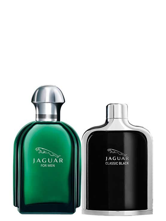 Bundle for Men: Jaguar Green for Men, edT 100ml by Jaguar + Jaguar Classic Black for Men, edT 100ml by Jaguar