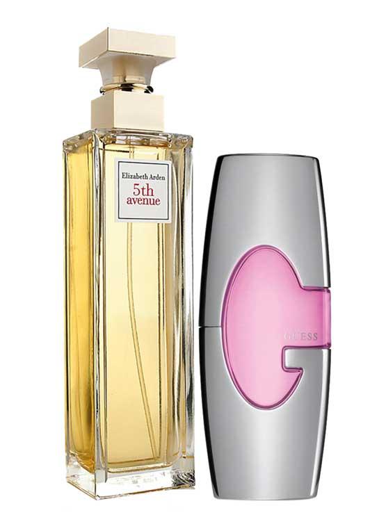 Bundle for Women: Guess Pink for Women, edP 75ml by Guess + 5th Avenue for Women, edP 125ml by Elizabeth Arden