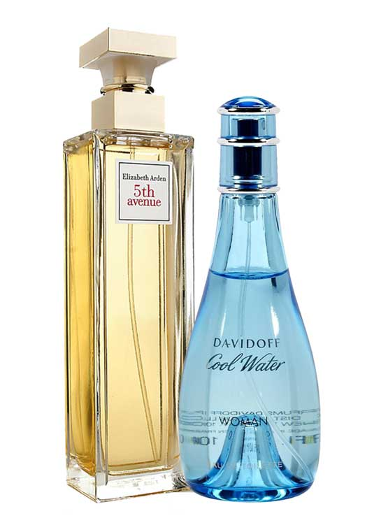 Bundle for Women: Cool Water for Women, edT 100ml by Davidoff + 5th Avenue for Women, edP 125ml by Elizabeth Arden