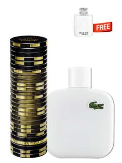 <p>Bundle for Men: </p><ul><li>The Brilliant Game for Men, edT 100ml by Davidoff +</li><li> Eau de Lacoste Blanc Pure (White) for Men, edT 100ml by Lacoste +</li><li> Legend Spirit Miniature for Men, edT 4.5ml by Mont Blanc Free!</li></ul>