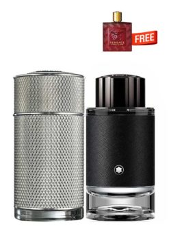 <p>Bundle for Men: </p><ul><li>Icon for Men, edP 100ml by Dunhill +</li><li> Explorer for Men, edP 100ml by Mont Blanc +</li><li> Eros Flame Miniature for Men, edP 5ml by Versace Free!</li></ul>