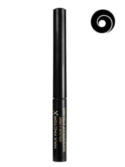 Deep Black 01 - Colour X-pert Waterproof Eye Liner  by Max Factor