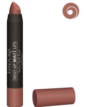 Bohemian 51 - Twist-Up Matt Lips Satin Soft Feel Lipstick by IsaDora
