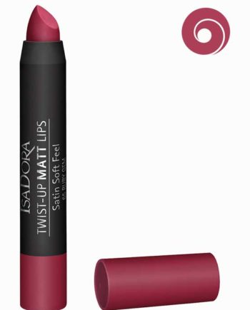 Ruby Gem 65 - Twist-Up Matt Lips Satin Soft Feel Lipstick by IsaDora