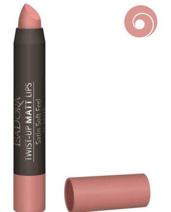 Naked 50 - Twist-Up Matt Lips Satin Soft Feel Lipstick by IsaDora