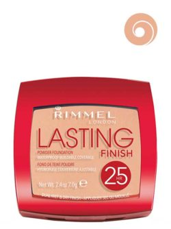 003 Silky Beige  - Lasting Finish Powder Foundation Waterproof Buildable Coverage 25HR Dual Wet & Dry Finish by Rimmel