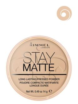004 Sandstorm - Stay Matte Long Lasting Pressed Powder (Round Box) by Rimmel