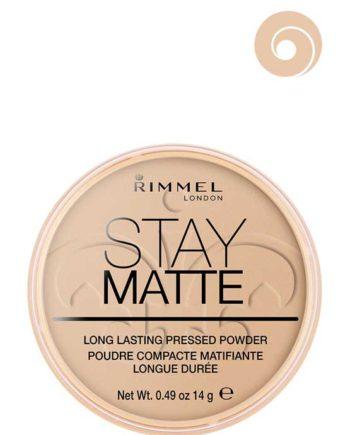 004 Sandstorm - Stay Matte Long Lasting Pressed Powder (Round Box) by Rimmel