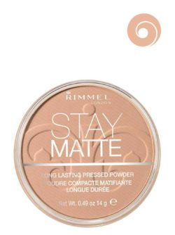 005 Silky Beige - Stay Matte Long Lasting Pressed Powder (Round Box) by Rimmel