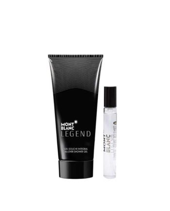 Legend Gift Set for Men (edT 7.5ml + All Over Shower Gel 50ml + Mini Pouch) by Mont Blanc