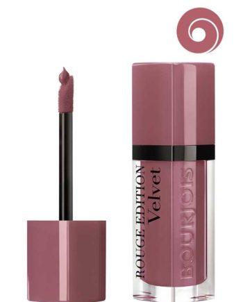 Nude-ist 07 - Rouge Edition Velvet Matte Finish Liquid Lipstick by Bourjois