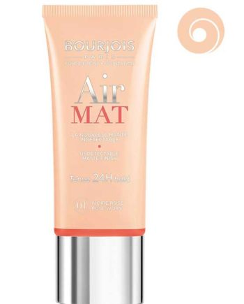 Rose Ivory 01 - Air Mat Undetectable Matte Finish 24H hold Foundation 30ml by Bourjois