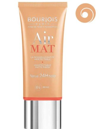 Beige 04 - Air Mat Undetectable Matte Finish 24H hold Foundation 30ml by Bourjois