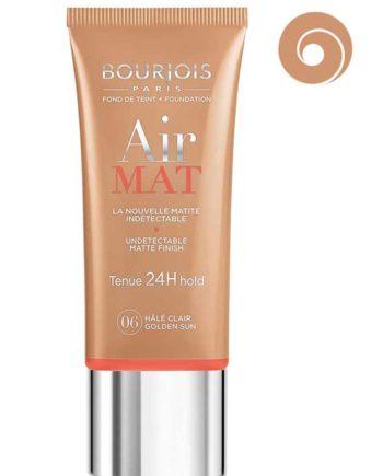 Golden Sun 06 - Air Mat Undetectable Matte Finish 24H hold Foundation 30ml by Bourjois