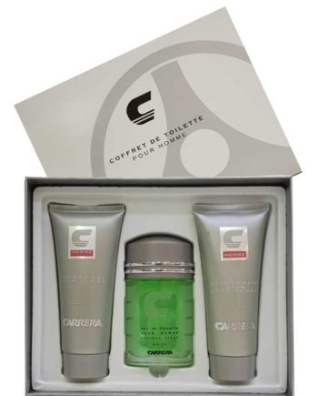 Carrera pour Homme Gift Set for Men (edT 100ml + After Shave Balm 200ml + Shower Gel 200ml) by Carrera