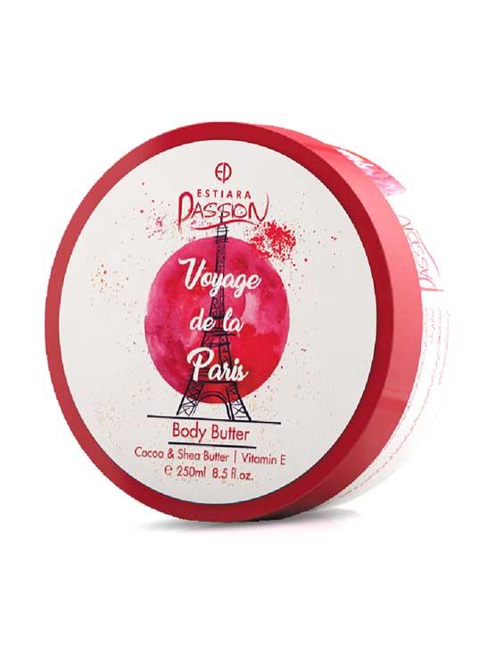 Voyage De La Paris Body Scrub Cocoa & Shea Butter with Vitamin E, 250ml by Estiara Passion