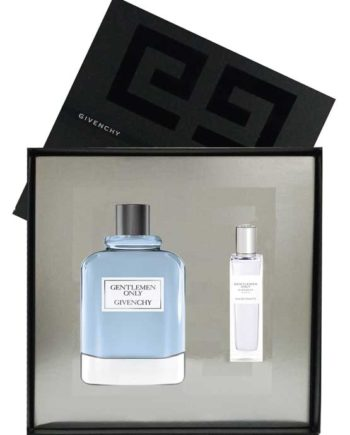 Gentlemen Only Gift Set for Men (edT 100ml + edT 15ml) by Givenchy