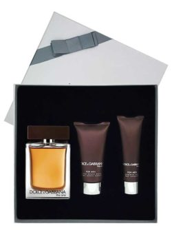 The One Gift Set for Men (edT 100ml + After Shave Balm + Shower Gel) by Dolce and Gabbana